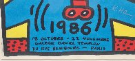 Paris Screenprint 1986 HS Limited Edition Print by Keith Haring - 5