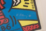 Paris Screenprint 1986 HS Limited Edition Print by Keith Haring - 4