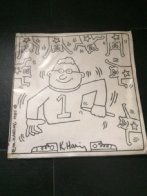 Lithographs in Artist Designed Coloring Book Ltd Edition 1986 Other by Keith Haring - 1