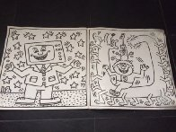Lithographs in Artist Designed Coloring Book Ltd Edition 1986 Other by Keith Haring - 2