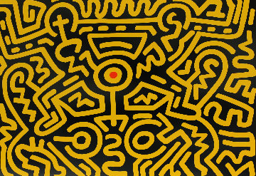 Growing #4 1988 HS Limited Edition Print - Keith Haring