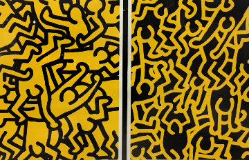 Playboy KH86 1990 Limited Edition Print by Keith Haring