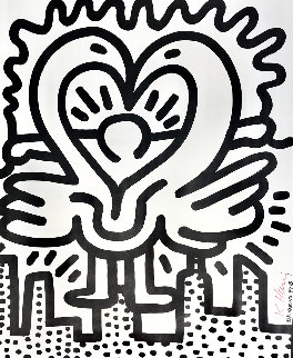 Kutztown Connection HS Limited Edition Print - Keith Haring