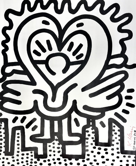 Kutztown Connection HS Limited Edition Print by Keith Haring