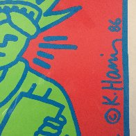 City Kids Speak on Liberty Poster 1986 HS Limited Edition Print by Keith Haring - 7