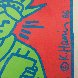 City Kids Speak on Liberty Poster 1986 HS Limited Edition Print by Keith Haring - 2