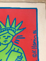 City Kids Speak on Liberty Poster 1986 HS Limited Edition Print by Keith Haring - 6
