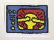 Untitled C 1987 Limited Edition Print by Keith Haring - 0
