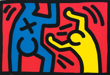 Untitled D 1987 Limited Edition Print by Keith Haring
