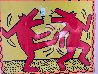 Untitled Poster (Dancing Dogs) Limited Edition Print by Keith Haring - 2