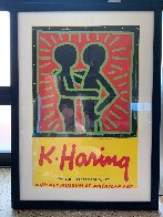 K. Haring Poster 1997 Limited Edition Print by Keith Haring - 1