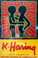 K. Haring Poster 1997 Limited Edition Print by Keith Haring - 0