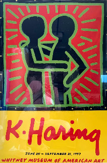 K. Haring Poster 1997 Limited Edition Print - Keith Haring