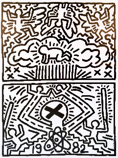 Nuclear Disarmament Poster 1982 Limited Edition Print - Keith Haring