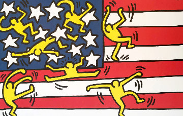 New York City Ballet 1988 Limited Edition Print by Keith Haring