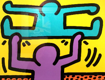 Pop Shop 1 1986 Limited Edition Print - Keith Haring