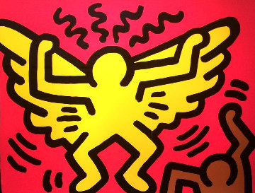 Pop Shop IV 1989 Limited Edition Print by Keith Haring