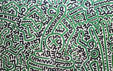 Homo Decorans Exhibition Poster 1985 HS Other - Keith Haring