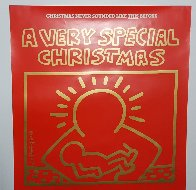 A Very Special Christmas - 15 Christmas Classics Poster Limited Edition Print by Keith Haring - 2