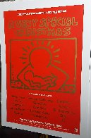 A Very Special Christmas - 15 Christmas Classics Poster Limited Edition Print by Keith Haring - 3
