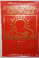 A Very Special Christmas - 15 Christmas Classics Poster Limited Edition Print by Keith Haring - 4