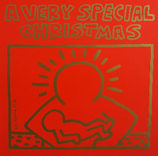 A Very Special Christmas - 15 Christmas Classics Poster Limited Edition Print by Keith Haring