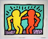 Best Buddies 1990 Limited Edition Print by Keith Haring - 1