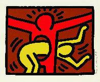 Pop Shop IV (C) 1989 Limited Edition Print by Keith Haring - 1