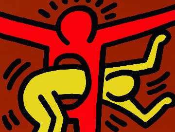 Pop Shop IV (C) 1989 Limited Edition Print by Keith Haring