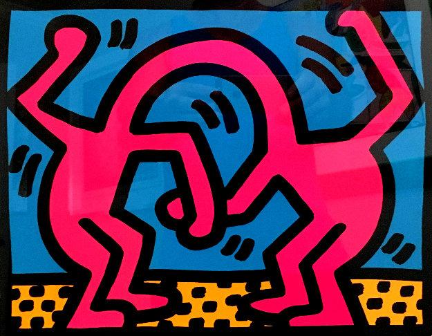 Pop Shop II 1988 by Keith Haring