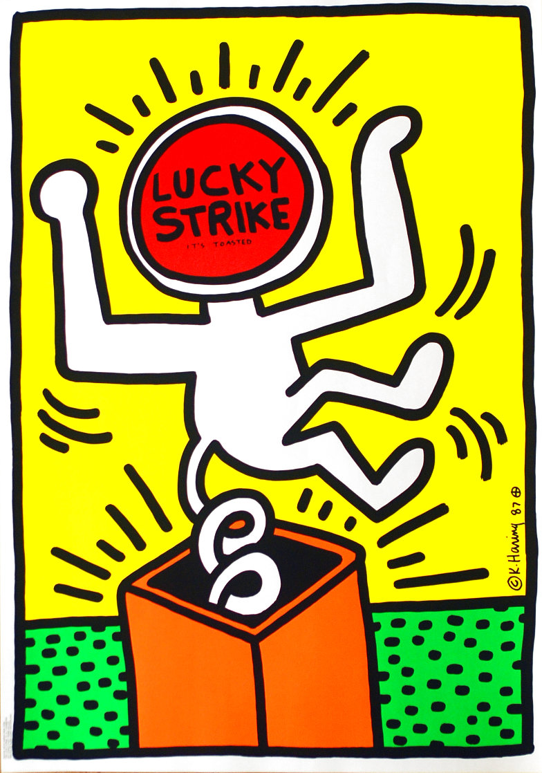 Lucky Strike Other by Keith Haring