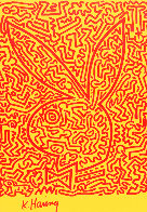 Playboy Series 1990 Limited Edition Print by Keith Haring - 0