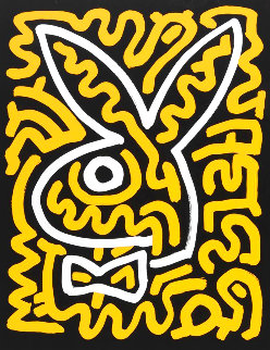 Playboy Series Limited Edition Print - Keith Haring