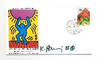 United Nations International Youth Year 1985 HS Limited Edition Print by Keith Haring - 2