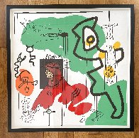 Apocalypse 9 From the Apocalypse Series 1988 HS Limited Edition Print by Keith Haring - 1