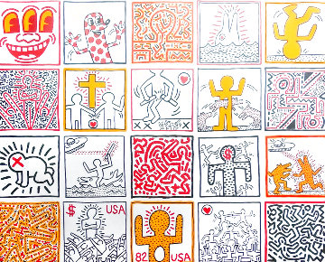 One Man Show Poster 1986 Other - Keith Haring
