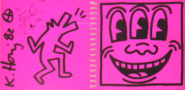 Catalogue 1982 Shafrazi Gallery Unique HS Limited Edition Print - Keith Haring