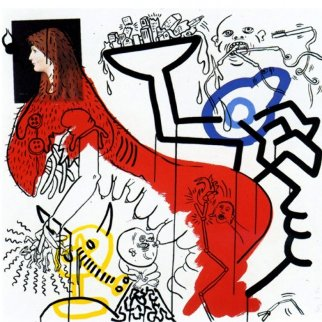 Apocalypse IV 1988 HS Limited Edition Print by Keith Haring