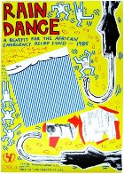 Rain Dance Poster 1985 Limited Edition Print by Keith Haring - 0