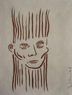 Joseph Beuys Portrait 1986 HS Limited Edition Print by Keith Haring
