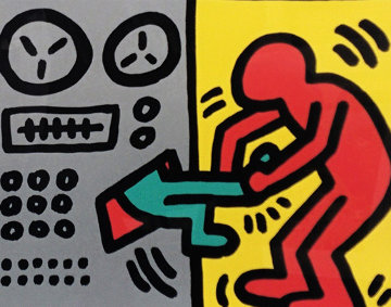 Pop Shop III (1) 1989 HS Limited Edition Print by Keith Haring