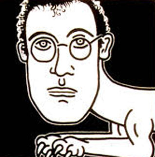 Self Portrait 1986 HS Limited Edition Print by Keith Haring