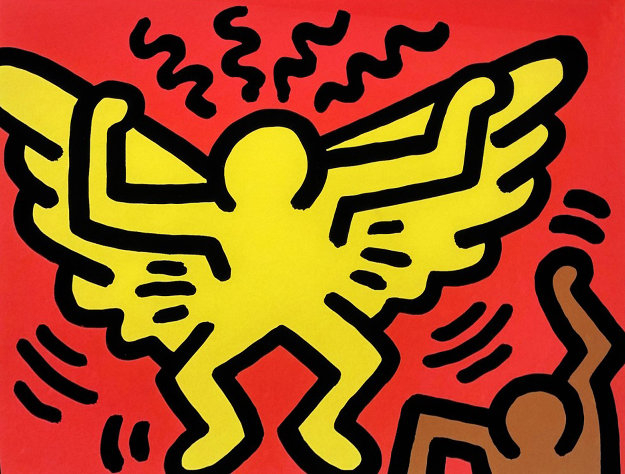 Pop Shop IV (1) 1989 Limited Edition Print by Keith Haring