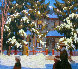 Sunday Morning Limited Edition Print by Lawren Harris - 0
