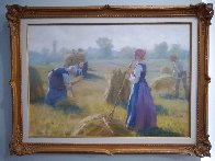 Morning Harvest 2007 36x48 Original Painting by Gregory Frank Harris - 1
