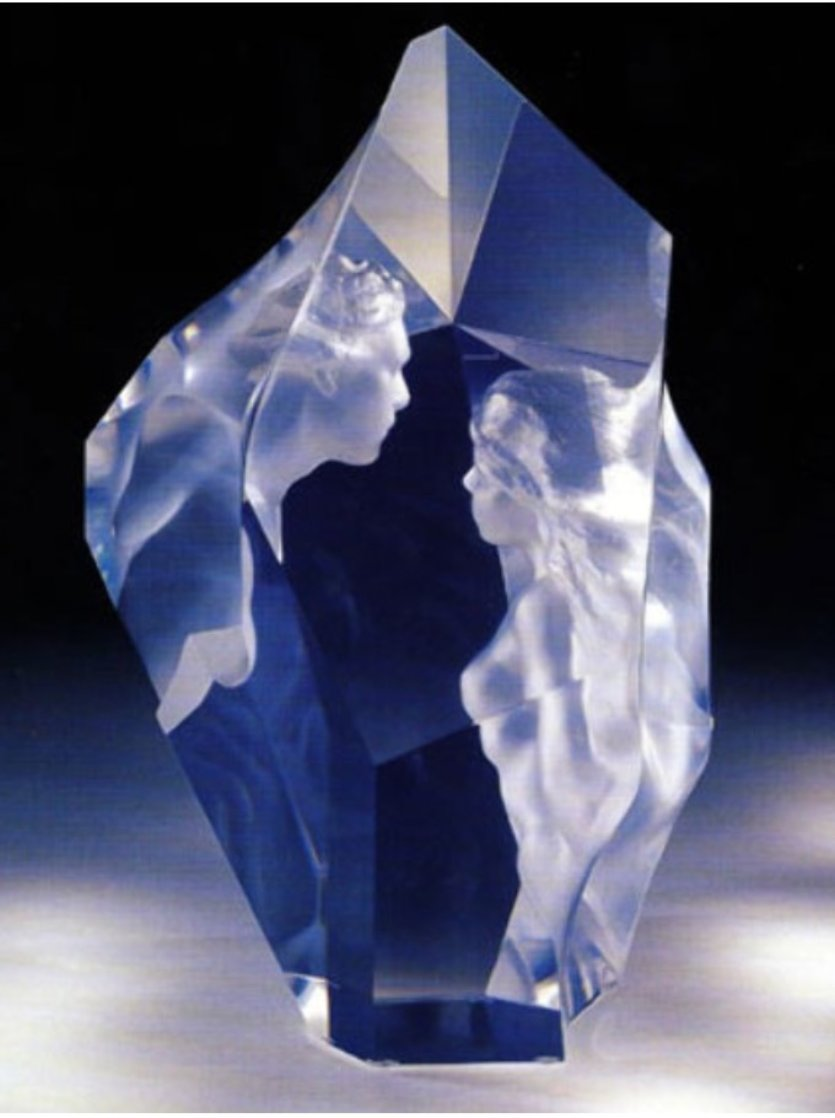 Prologue Lucite Sculpture 2000 12 in Sculpture by Frederick Hart