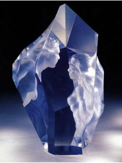 Prologue Lucite Sculpture 2000 12 in Sculpture - Frederick Hart