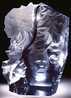 Appassionata Acrylic Sculpture 2000 17 in Sculpture by Frederick Hart
