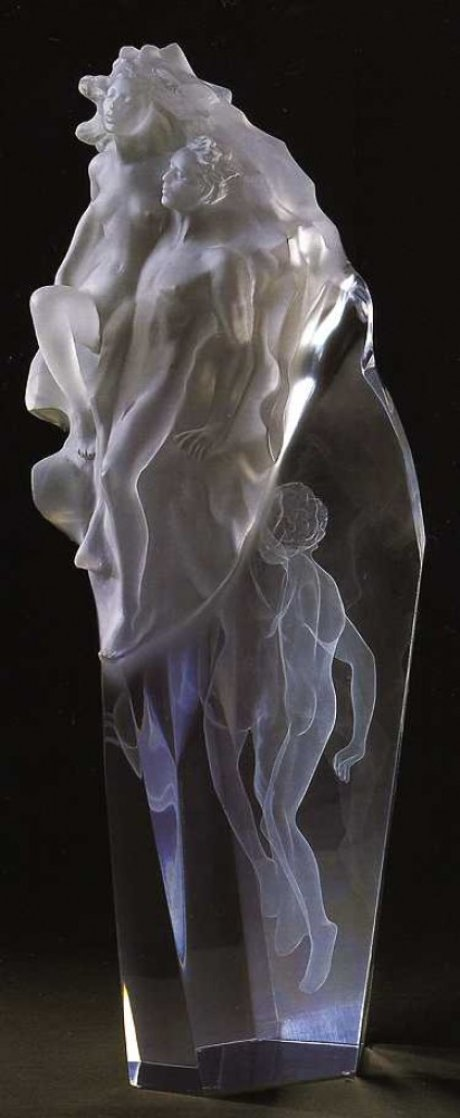Born of Light Acrylic Sculpture 2004 23 in Sculpture by Frederick Hart
