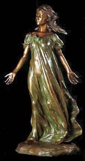 Youngest Daughter 3/4 Life Size (From the Daughters of Odessa) Bronze  Sculpture 43 in Sculpture - Frederick Hart